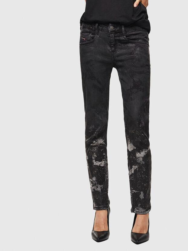 D-Ollies JoggJeans 084AZ, Noir/Gris foncé - Jeans