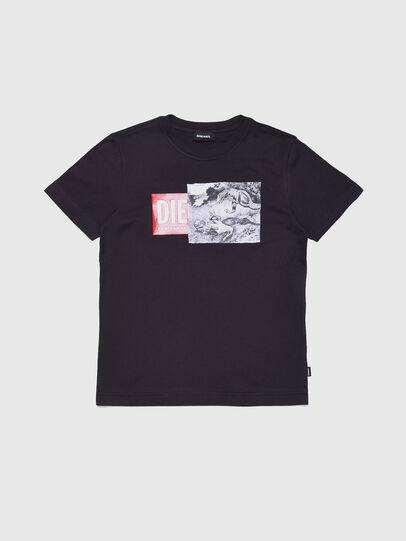 Diesel - TJUSTXH, Noir - T-shirts et Hauts - Image 1