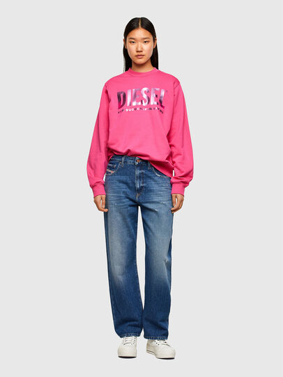 Diesel - F-ANG, Fuchsia - Pull Cotton - Image 4