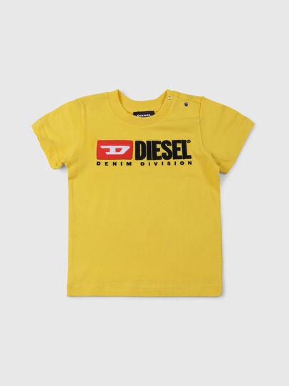 Diesel - TJUSTDIVISIONB, Jaune - T-shirts et Hauts - Image 1
