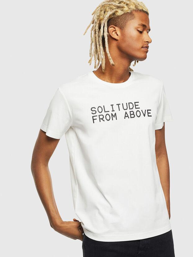 T-DIEGO-J13, Blanc - T-Shirts