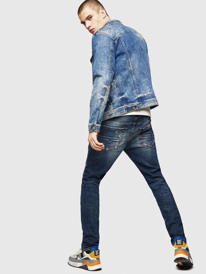 Diesel - Thommer 083AC, Bleu Foncé - Jeans - Image 6
