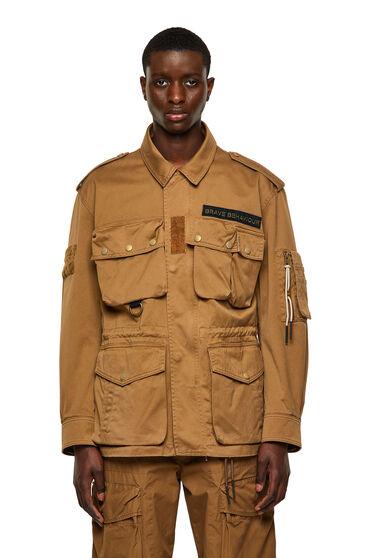 Veste utilitaire Green Label avec multi-poches