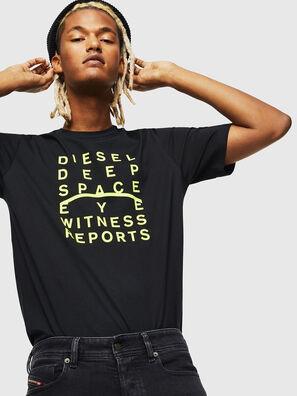 T-JUST-J5, Noir - T-Shirts