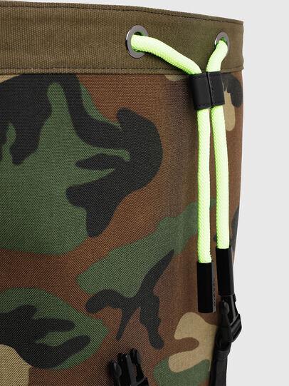 Diesel - VOLPAGO BACK, Vert Camouflage - Sacs à dos - Image 4