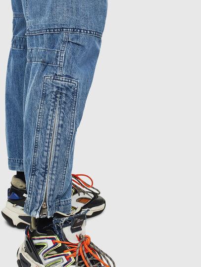 Diesel - D-Luks 009CL, Bleu Clair - Jeans - Image 5