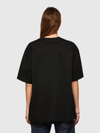 Diesel - T-SHARP, Noir - T-Shirts - Image 2