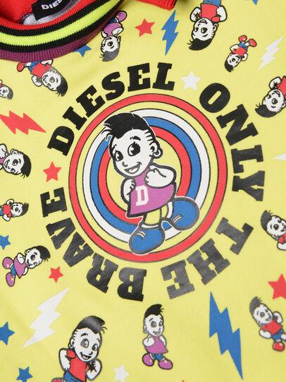 Diesel - DISSAB, Noir/Jaune - Robes - Image 3