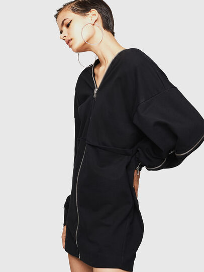Diesel - DOVERIP, Noir - Robes - Image 4