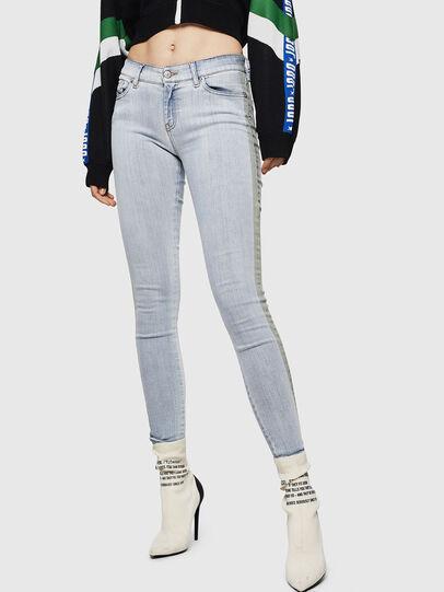 Diesel - Slandy 0090E, Bleu Clair - Jeans - Image 1