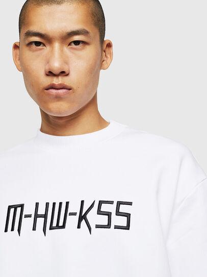 Diesel - S-LINK-MOHAWK, Blanc - Pull Cotton - Image 3