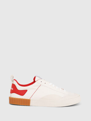 S-BULLY LC, Blanc/Rouge - Baskets
