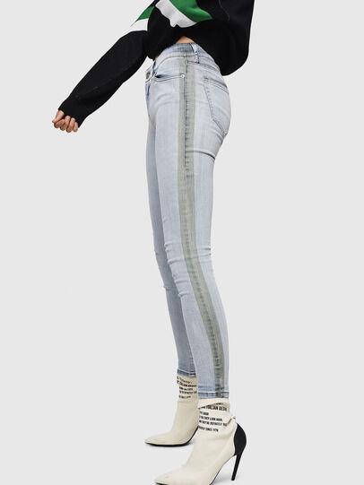Diesel - Slandy 0090E, Bleu Clair - Jeans - Image 5