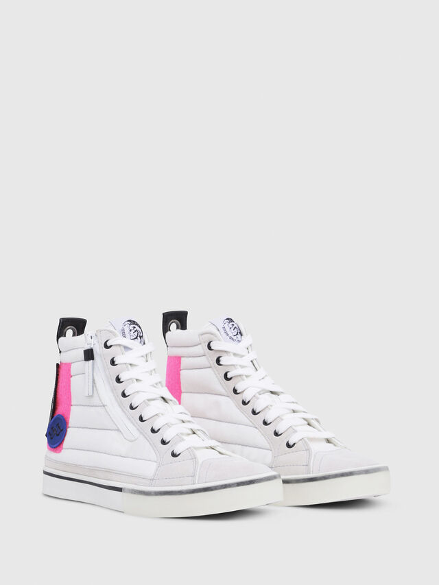 Diesel - D-VELOWS MID PATCH W, Blanc - Baskets - Image 2