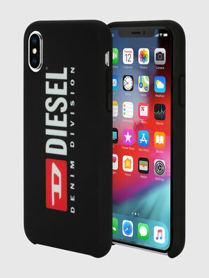 DIESEL PRINTED CO-MOLD CASE FOR IPHONE XS & IPHONE X, Noir/Blanc - Coques