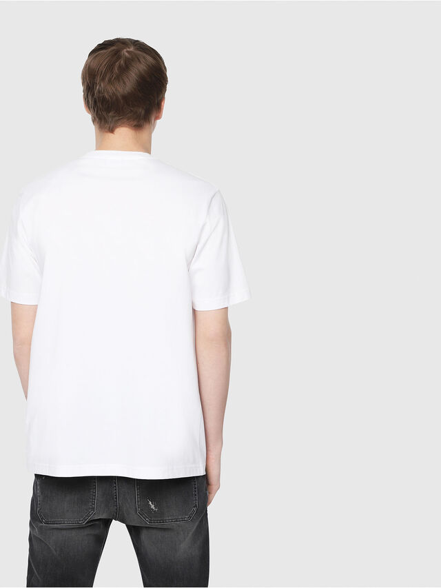 Diesel - T-JUST-Y3, Blanc - T-Shirts - Image 2