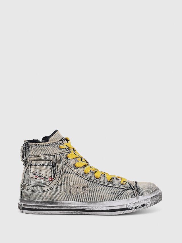 Diesel - SN MID 20 EXPOSURE Y, Jean Gris - Footwear - Image 1