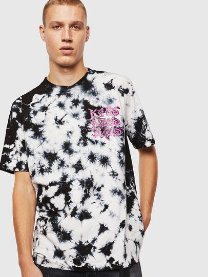 Diesel - T-JUST-J23, Noir/Blanc - T-Shirts - Image 1