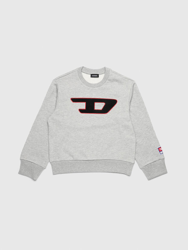 SCREWDIVISION-D OVER, Gris - Pull Cotton