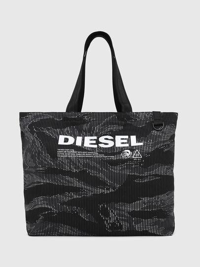 Diesel - D-THISBAG SHOP M, Noir - Cabas et Sacs d'Épaule - Image 1