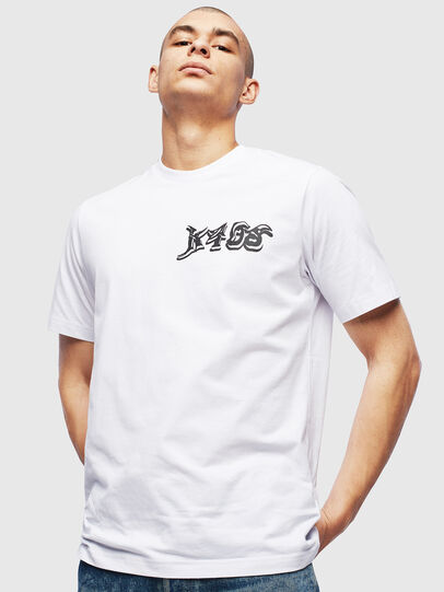Diesel - T-JUST-T31, Blanc - T-Shirts - Image 1