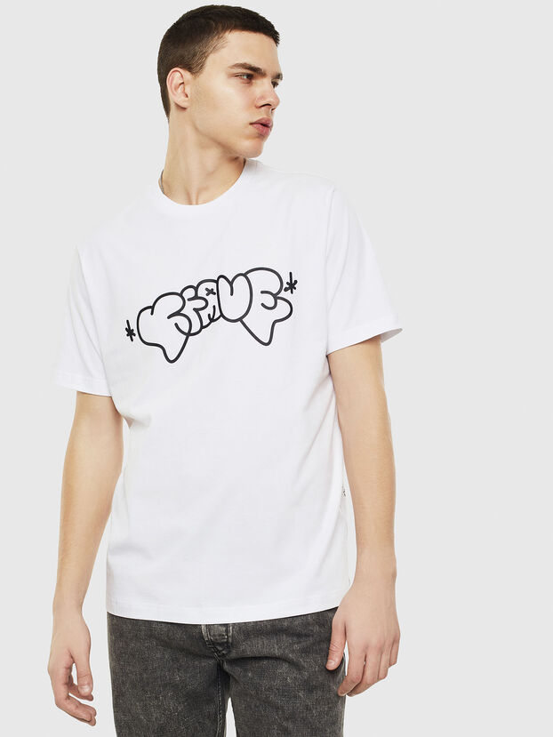 T-JUST-T28, Blanc - T-Shirts