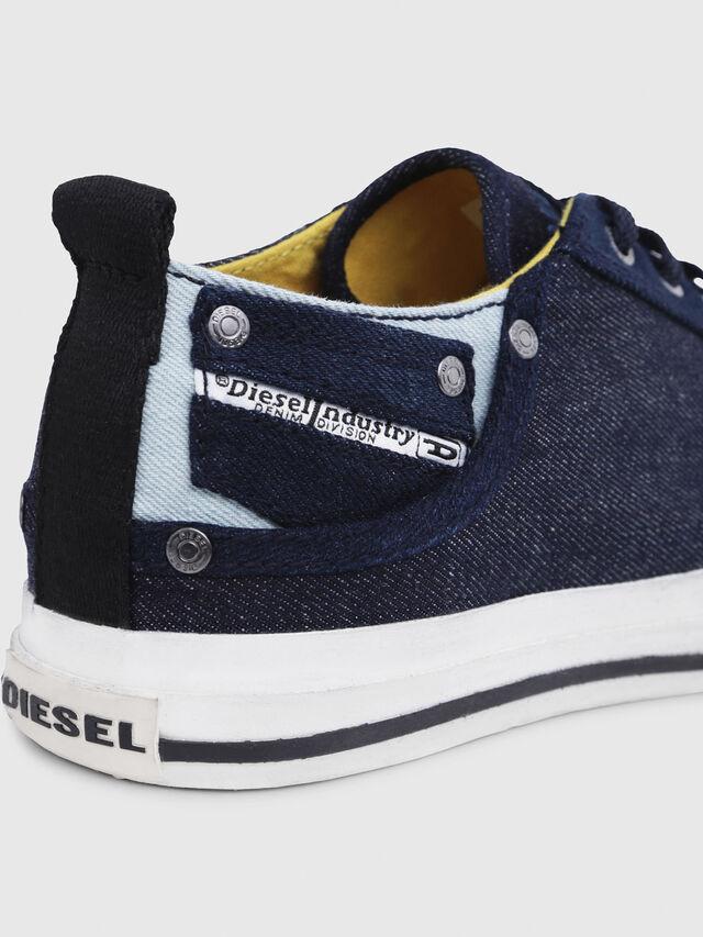 Diesel - EXPOSURE LOW I, Bleu Foncé - Baskets - Image 5