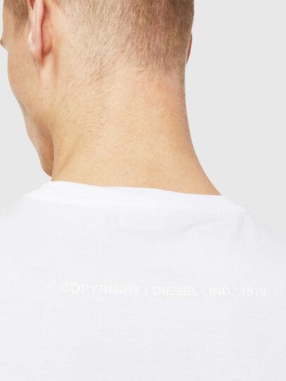 Diesel - T-JUST-T25, Blanc - T-Shirts - Image 4