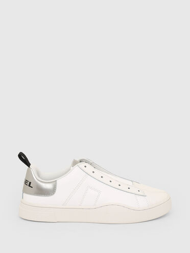 Sneakers sans lacets réfléchissantes