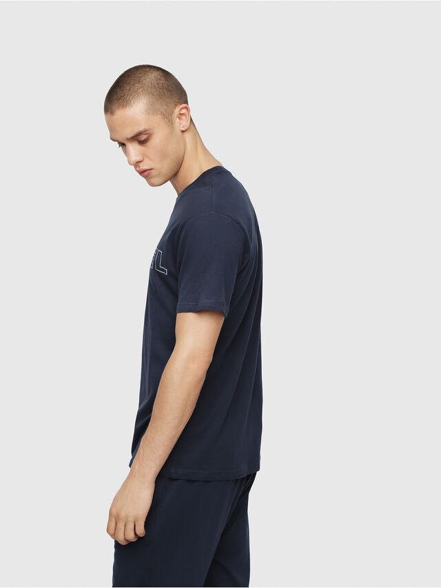 Diesel - UMLT-JAKE, Bleu Nuit - T-Shirts - Image 3