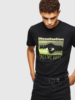 T-DIEGO-J4, Noir - T-Shirts