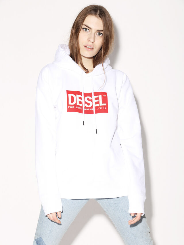 Diesel - DEIS-SHOOD, Blanc - Pull Cotton - Image 3