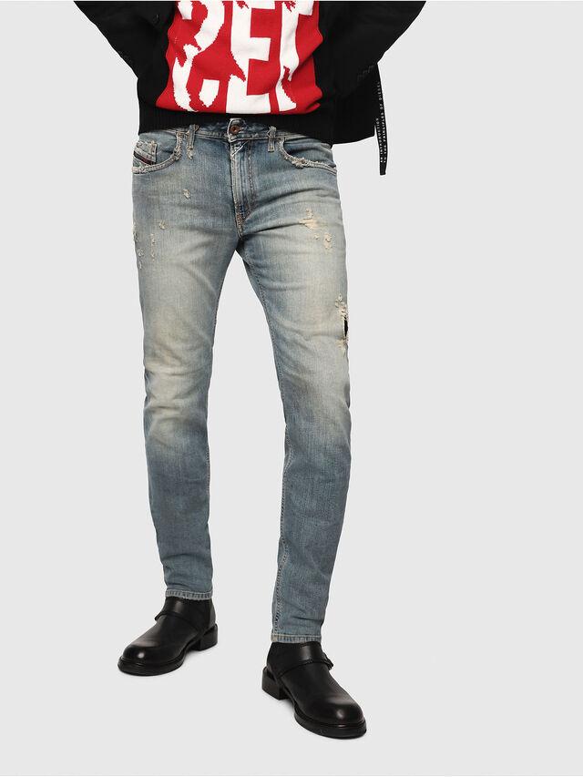 Diesel - Thommer 081AU, Bleu moyen - Jeans - Image 1