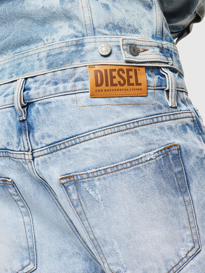 Diesel - D-Kodeck 0078C, Bleu Clair - Jeans - Image 4