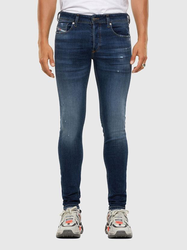 Sleenker 009DK, Bleu Foncé - Jeans