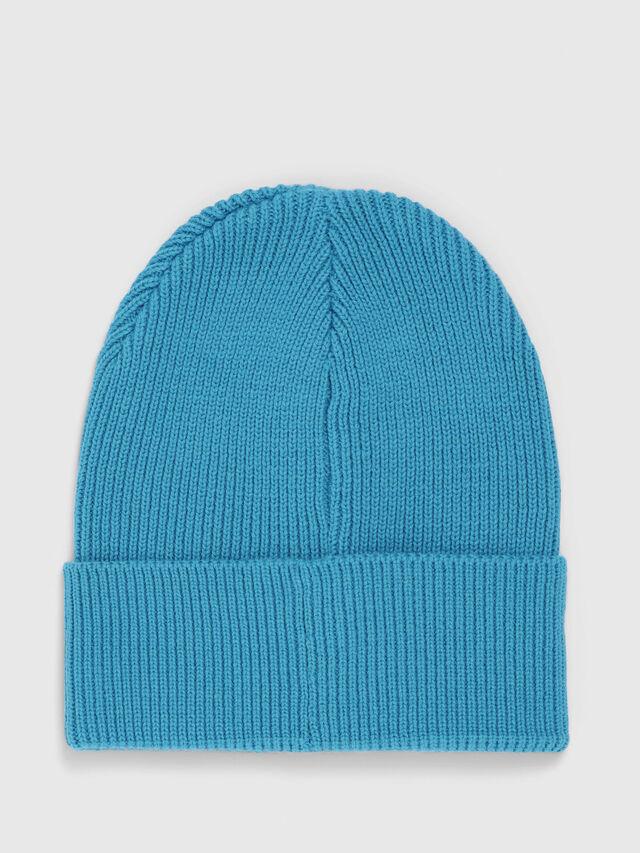 Diesel - K-CODER, Turquoise - Bérets, chapeaux et gants - Image 2