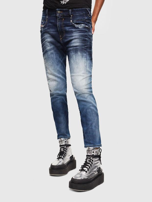 Fayza JoggJeans 069KD, Bleu Foncé - Jeans