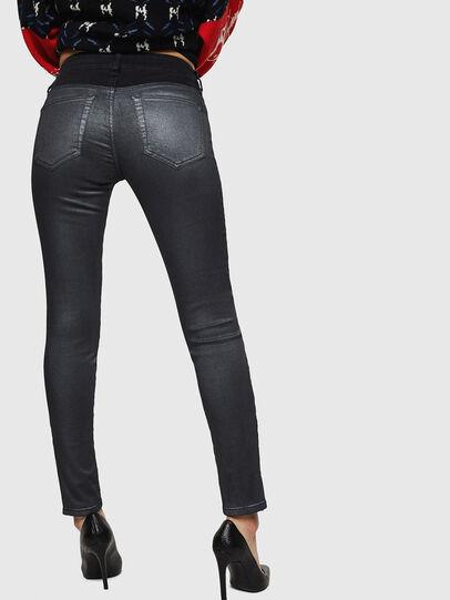 Diesel - Slandy Zip 069GF, Noir/Gris foncé - Jeans - Image 2