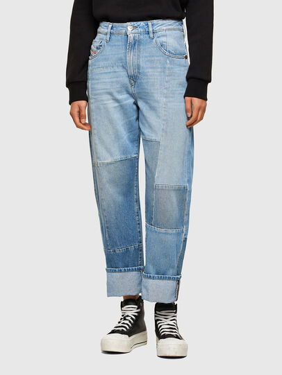Diesel - D-Reggy 009ND, Bleu Clair - Jeans - Image 1