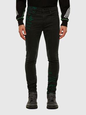 D-Reeft JoggJeans 009HD, Noir/Gris foncé - Jeans