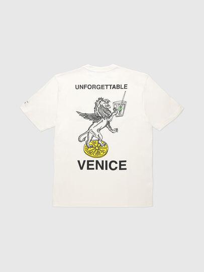 Diesel - VE-T-JUST-LEO, Blanc - T-Shirts - Image 2