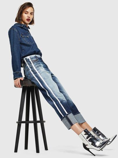 Diesel - D-Reggy 0096S, Bleu moyen - Jeans - Image 7