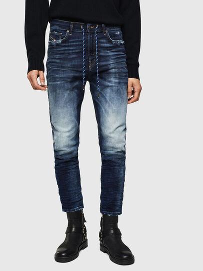 Diesel - D-Vider JoggJeans 069KD, Bleu Foncé - Jeans - Image 1