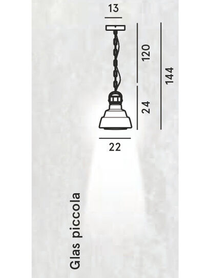 Diesel - GLAS PICCOLA, Gris argenté - Suspensions - Image 2
