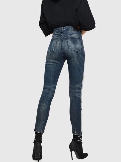 Diesel - Babhila High 069HN, Bleu Foncé - Jeans - Image 2