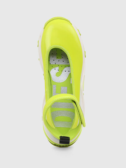Diesel - S-HERBY BA W, Jaune - Chaussures Plates - Image 6