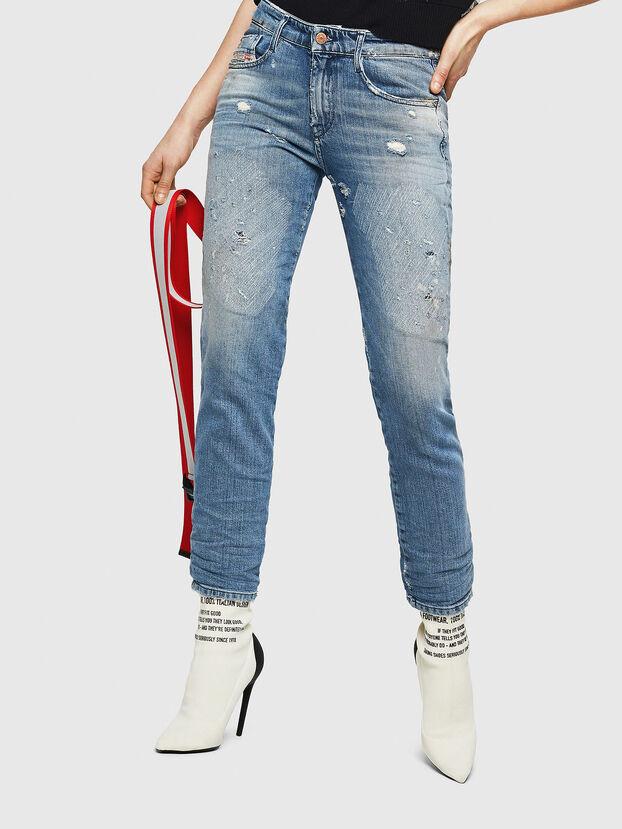 D-Rifty 084AL, Bleu Clair - Jeans