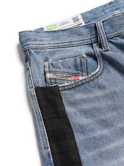Diesel - D-DEEPCHECKDENIM, Bleu Clair - Pantalons - Image 3