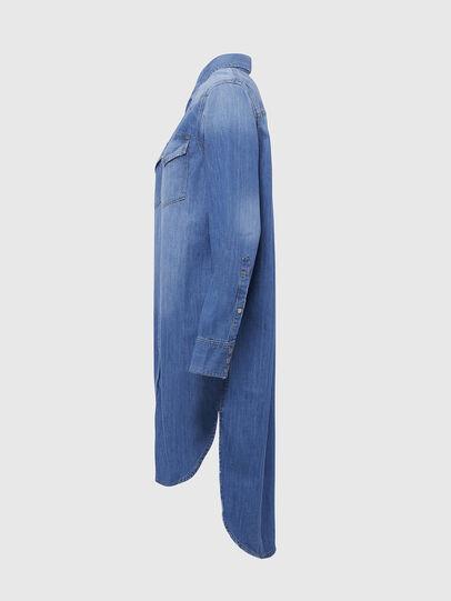 Diesel - DE-BLANCHE, Bleu Clair - Robes - Image 3