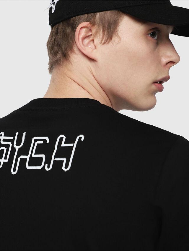 Diesel - T-JUST-Y5, Noir - T-Shirts - Image 3